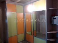 Шкаф по двум стенам