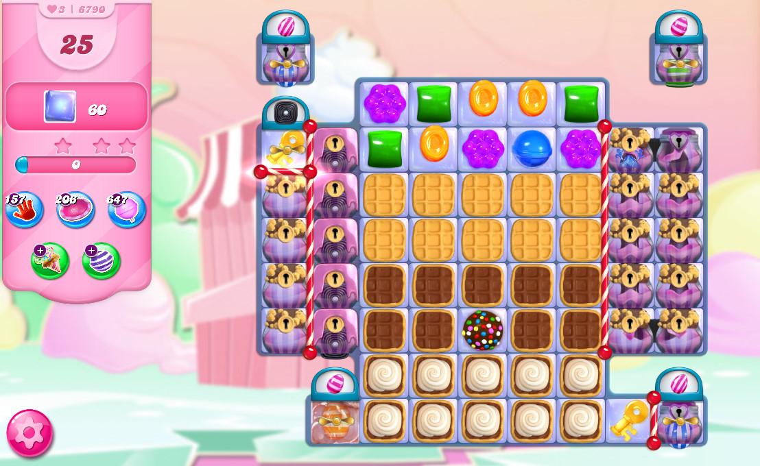 Candy Crush Saga level 6790