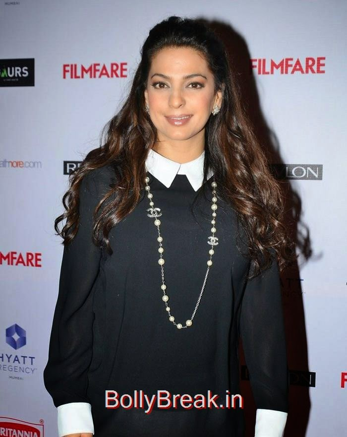 Juhi Chawla, 60th Britannia Filmfare Awards pre-awards Party 2015 Red Carpet Pics
