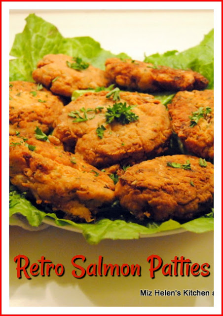 Retro Salmon Patties at Miz Helen's Country Cottage