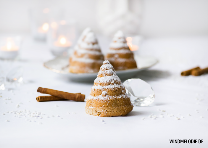 Tannenbaum Muffins Kuchen Weihnachten Rezept