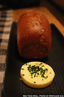 Potato Bread and Butter with Chives, Black Pepper, Lemon Zest, and Salt at Upland