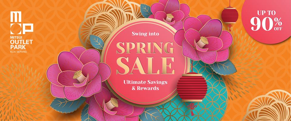 [Event] Swing Into The Spring Sale This Chinese New Year Season at MITSUI Outlet Park KLIA Sepang