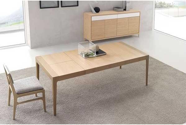 Arte Hábitat, tu tienda de muebles: Comedor Optimum 16 de NOGAL ...