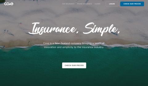 Accueil Cove Insurance