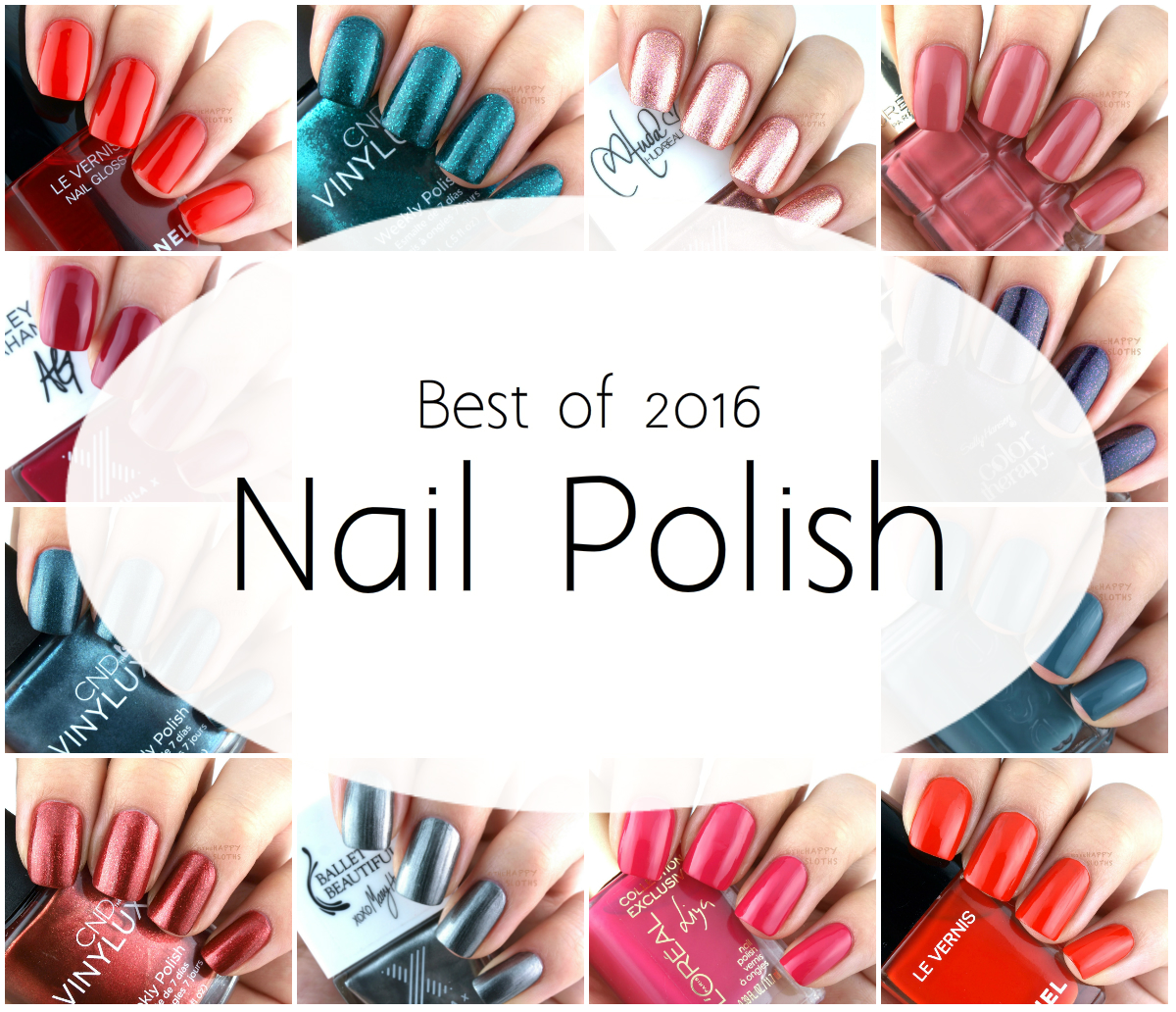 Best of 2016 | Nail Polish Favorites