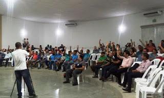 Reunião da situação do Rio Utinga