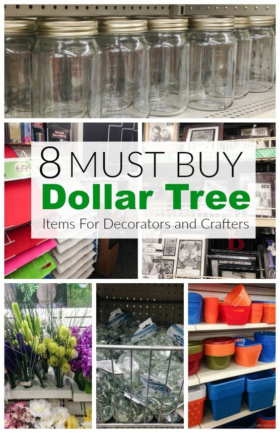 Must buy Dollar Tree items for decorators and crafters