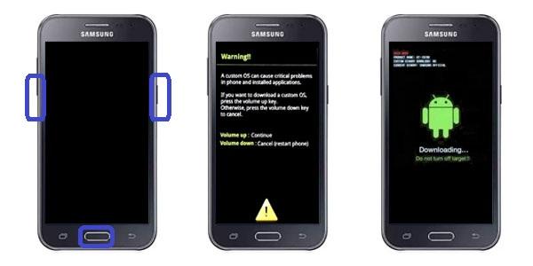 Cara Flashing Pada Samsung Galaxy J2 Dengan PC via Odin