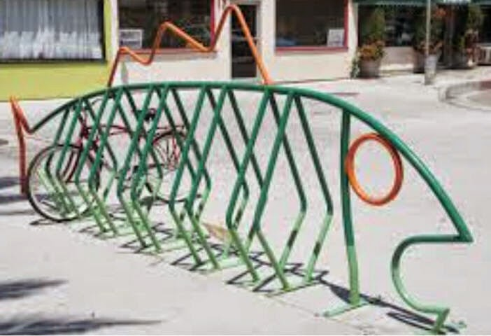 Norristown Diary Bike Racks Easy Art