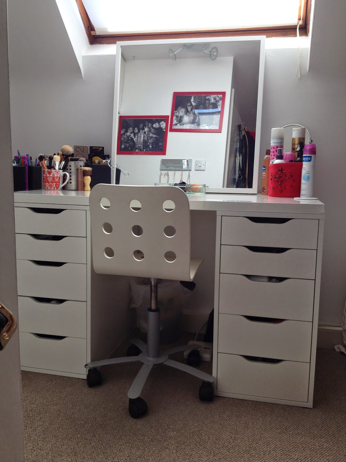 My Makeup Storage And Organisation