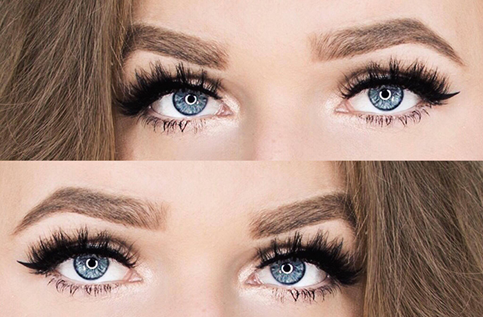 Makeup Look: Lilly Lashes in Mykonos