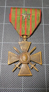 Croix de Guerre awarded to Tali Esen Waters