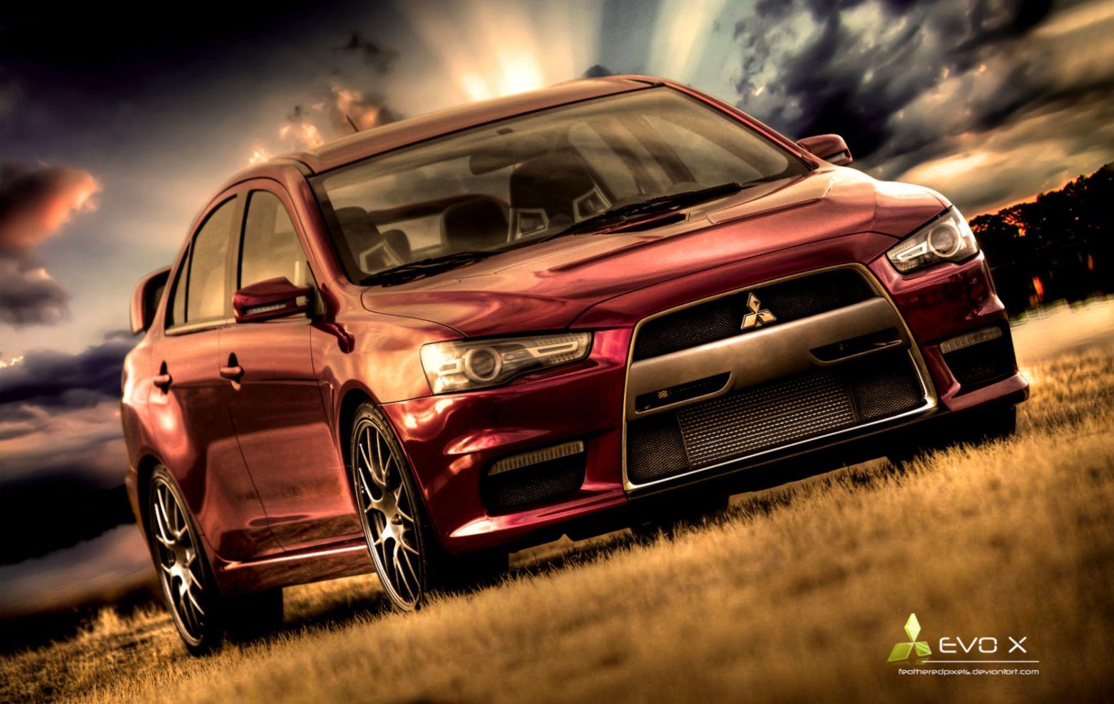 Mitsubishi Evolution Evo Hd Wallpaper Barong Wallpapers