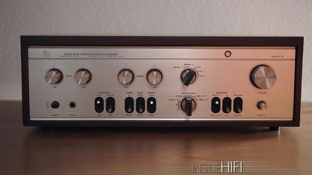 Inside Hi-Fi: Luxman L-504