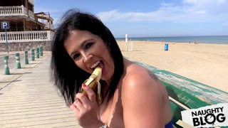 Fake Cop – Montse: Anal Sex for New Beach Patrol Cop