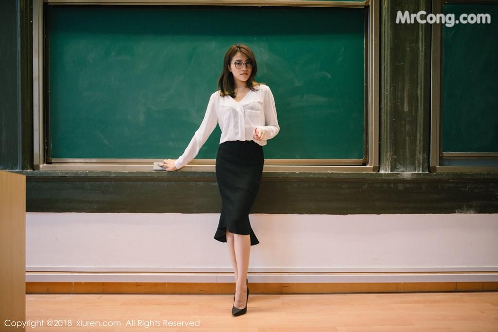 Image XIUREN-No.1267-Sabrina-Xu-Nuo-MrCong.com-004 in post XIUREN No.1267: Người mẫu Sabrina (许诺) (45 ảnh)