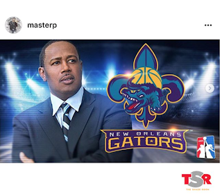 New Orleans Gators Basketball Master P
