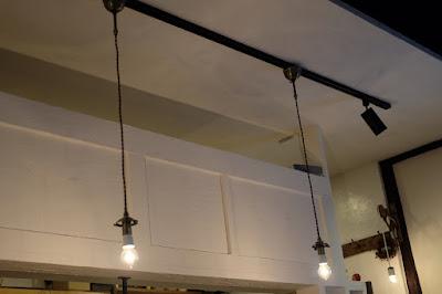 長野県松本市の喫茶・カフェ Cafe chiiann (カフェ チーアン)照明