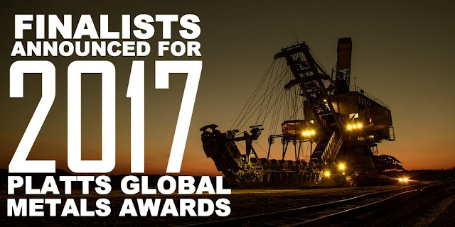 PR | Finalists Announced for 2017 Platts Global Metals Awards