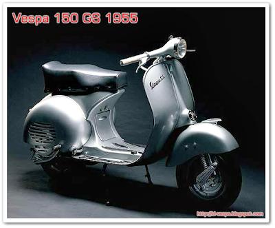 Harga Vespa Bekas Langka dan Antik 150 GS 1955