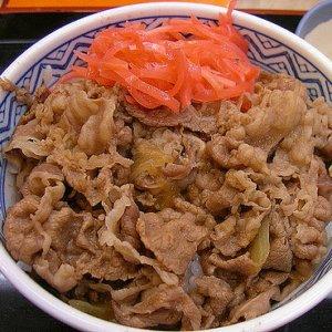 吉野家牛丼1