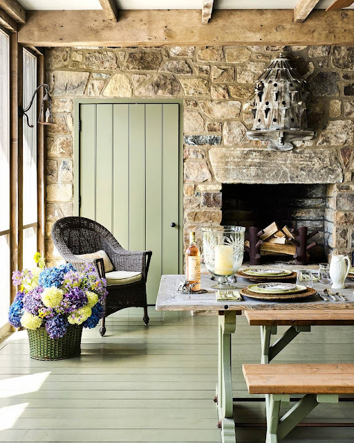 Dining Room Furniture Ideas with Classic Fireplace
