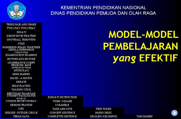 Model-Model Pembelajaran Efektif - Presentasi Microsoft PowerPoint