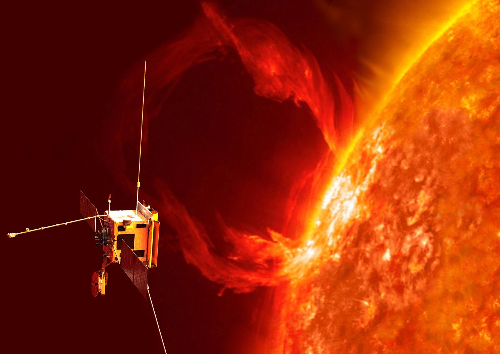 nasa satellite to the sun - HD 1280×770