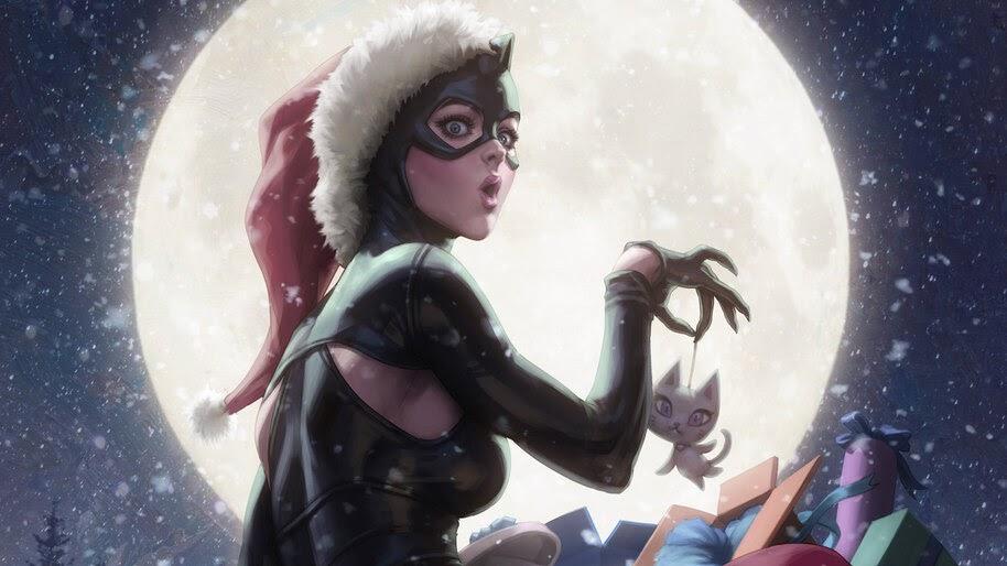 Catwoman, DC, Christmas, Thief, 4K, #6.2024