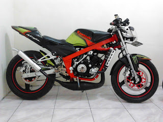 Modifikasi final Ninja 150R