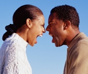 nigerian woman breaks husband nose