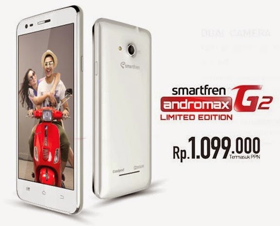 harga Smartfren Andromax G2 Limited Edition, Smartfren Andromax G2 Limited Edition, spesifikasi Smartfren Andromax G2 Limited Edition, Smartfren,
