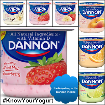 Dannon encourages you take the Dannon Pledge: http://www.dannonpledge.com/ and to #KnowYourYogurt