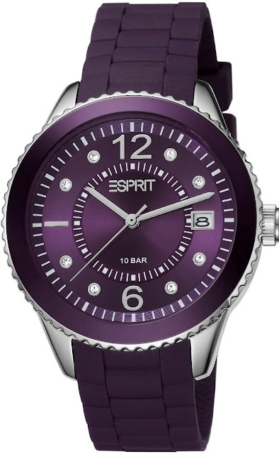 Esprit Women Marin 68 Aubergine Watch Price India