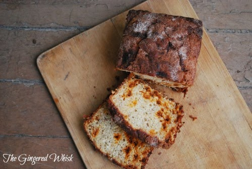 AMAZING Snickerdoodle Banana Bread - The Gingered Whisk