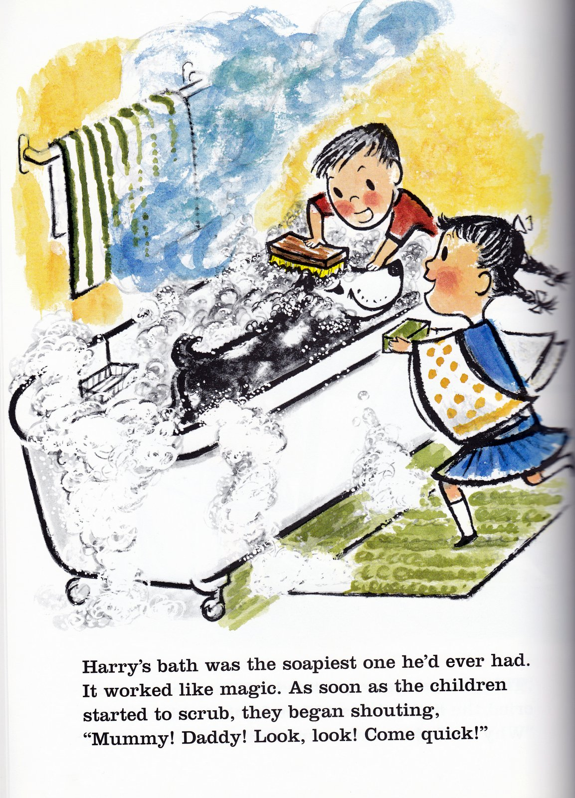 Vintage Books For The Very Young Harry The Dirty Dog