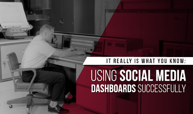 It Really Is What You Know: Using Social Media Marketing Dashboards Successfully - #infographic