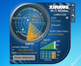 Xirrus Wi-Fi Inspector Final