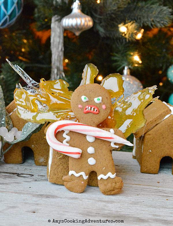 Krampus Gingerbread Man