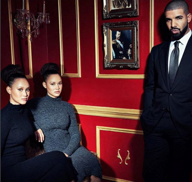 Drake dumps Jenifer Lopez, takes twin sisters on Valentine date