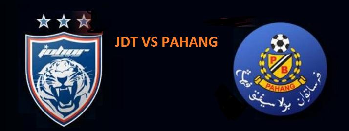 SIARAN LANGSUNG JDT Vs Pahang piala fa semi final 2017