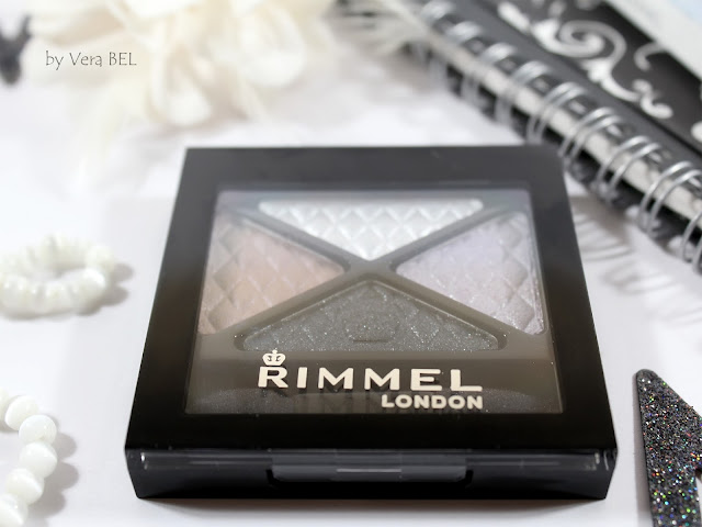 Eyeshadow Rimmel Glam'Eyes Quad Eye Shadow in shade # 023 Beauty Spells