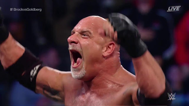 GOLDBERG SQUASHED BROCK LESNAR IN 87 SECONDS SURVIVOR SERIES 2016