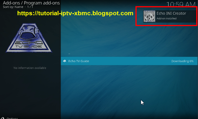 how to add system to main screen kodi