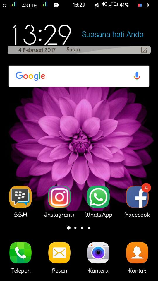 Tema Vivo y51 dan y51L Samsung S8