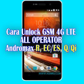 Cara Unlock 4g LTE All Operator Andromax R, EC/ES dan Andromax Q/Qi