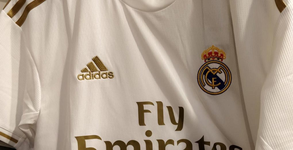 ab6b57498 Update  A new picture of the Adidas Real Madrid 2019-2020 home kit has been  leaked online.