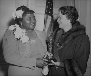 Hattie McDaniel Fay Banter 1940 Oscars