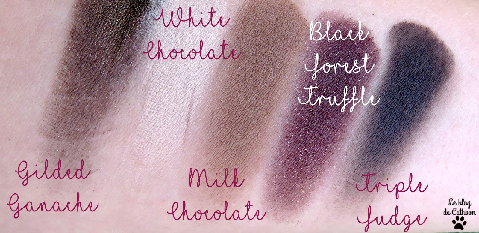 Chocolate Bar - Too Faced swatch